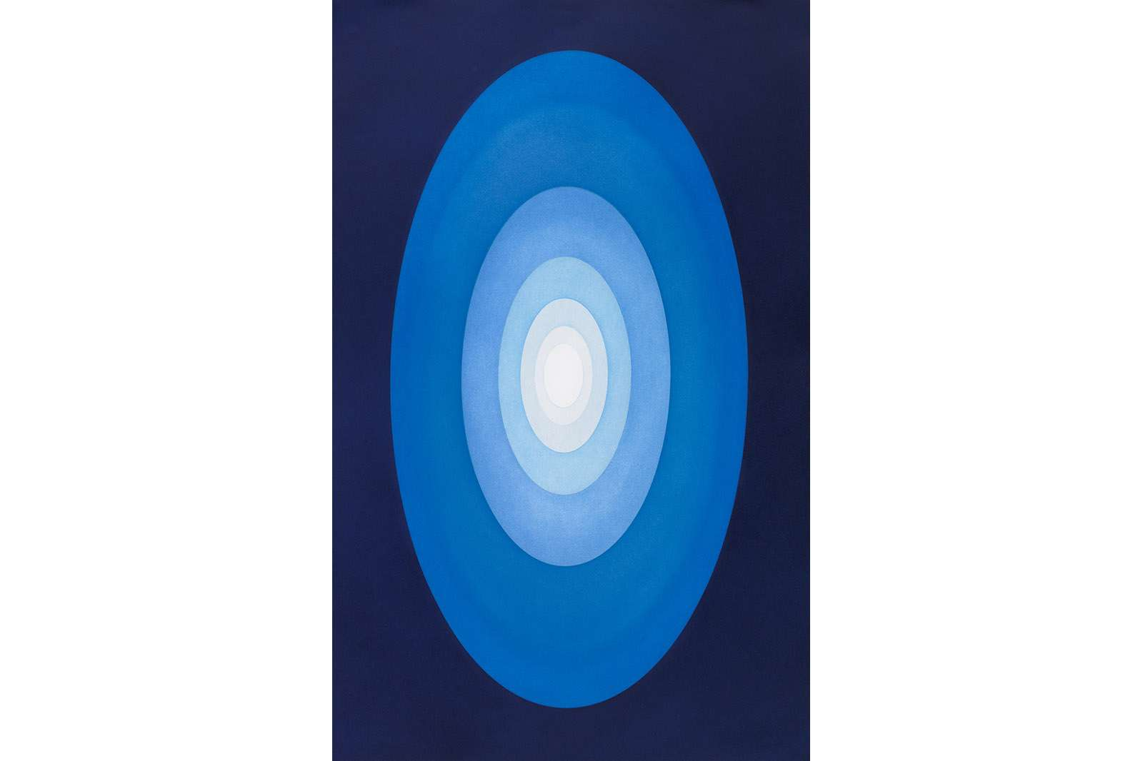 James Turrell, Meeting, 1989-90. Aquatint, 42 7/16 x 29 13/16 inches. Edition of 30.  © James Turrell. Photo courtesy of the artist and Pace Prints