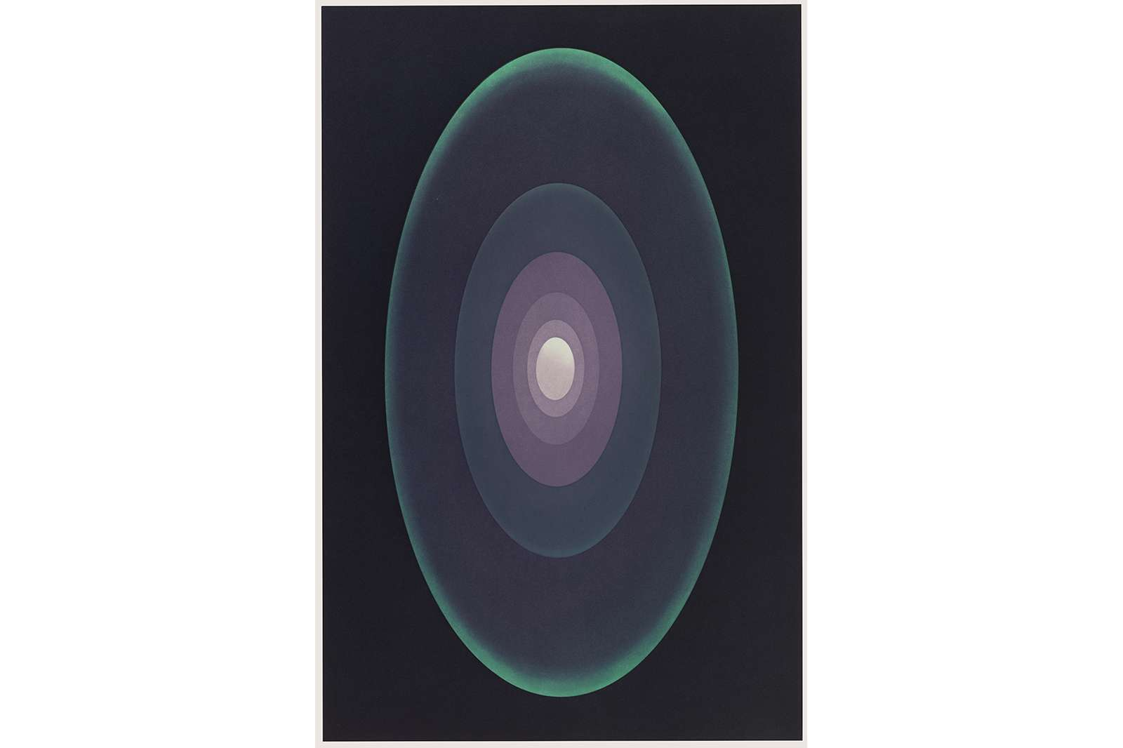 James Turrell, Meeting, 1989-90. Aquatint, 42 7/16 x 29 13/16 inches. Edition of 30.