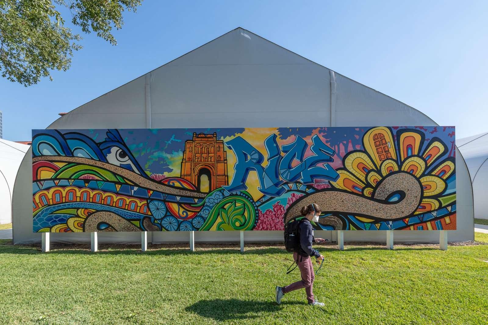 "GONZO247 ""Community Mural."" Photo by Nash Baker"