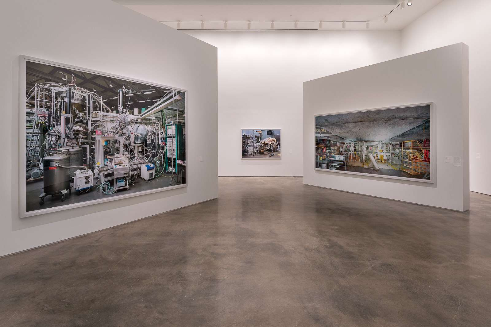 Installation view of Thomas Struth: Nature & Politics at the Moody Center for the Arts. ©Thomas Struth. Photo: Nash Baker