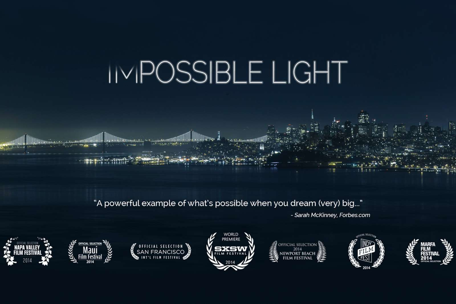 """Impossible Light"" (2014). Directed by Jeremy Ambers."