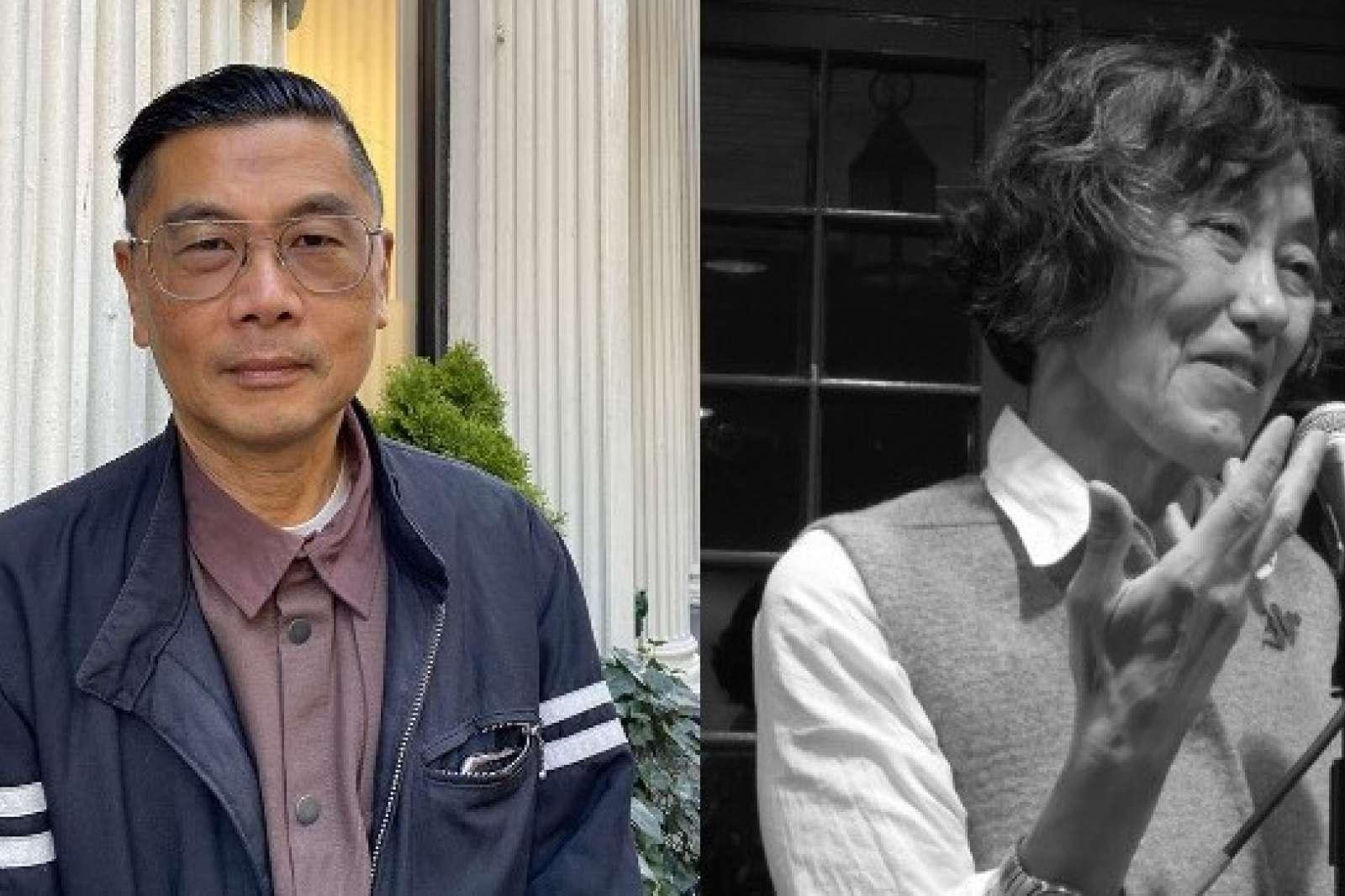 Artist Byron Kim and Poet Mei-mei Berssenbrugge