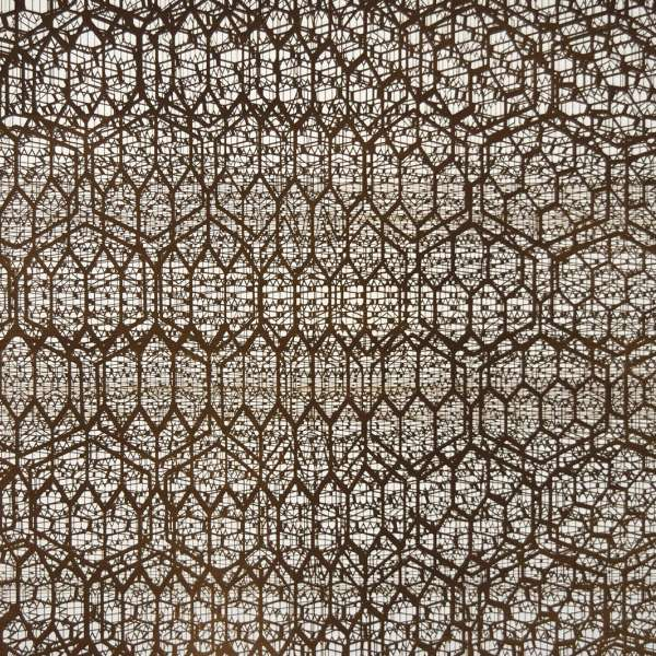 Joseph Cohen, Graphene, 2017. Laser induced graphene on Arches paper. 20 x 30 inches. Courtesy the artist