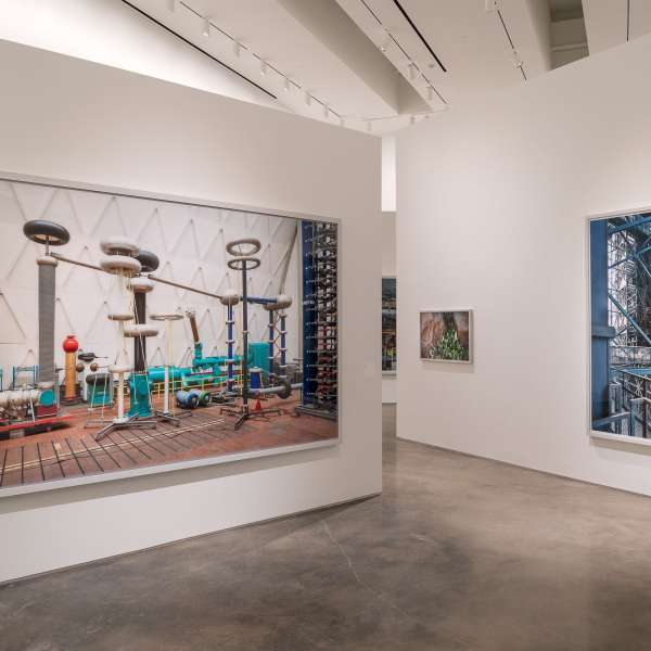 Installation view of Thomas Struth: Nature & Politics at the Moody Center for the Arts. ©Thomas Struth. Photo: Nash Baker