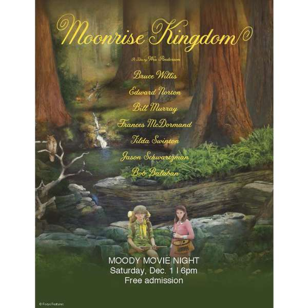 Moonrise Kingdom, 2012. Movie poster