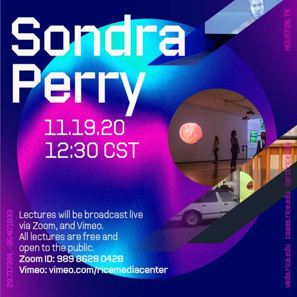 Visiting Artist Lecture Series: Sondra Perry