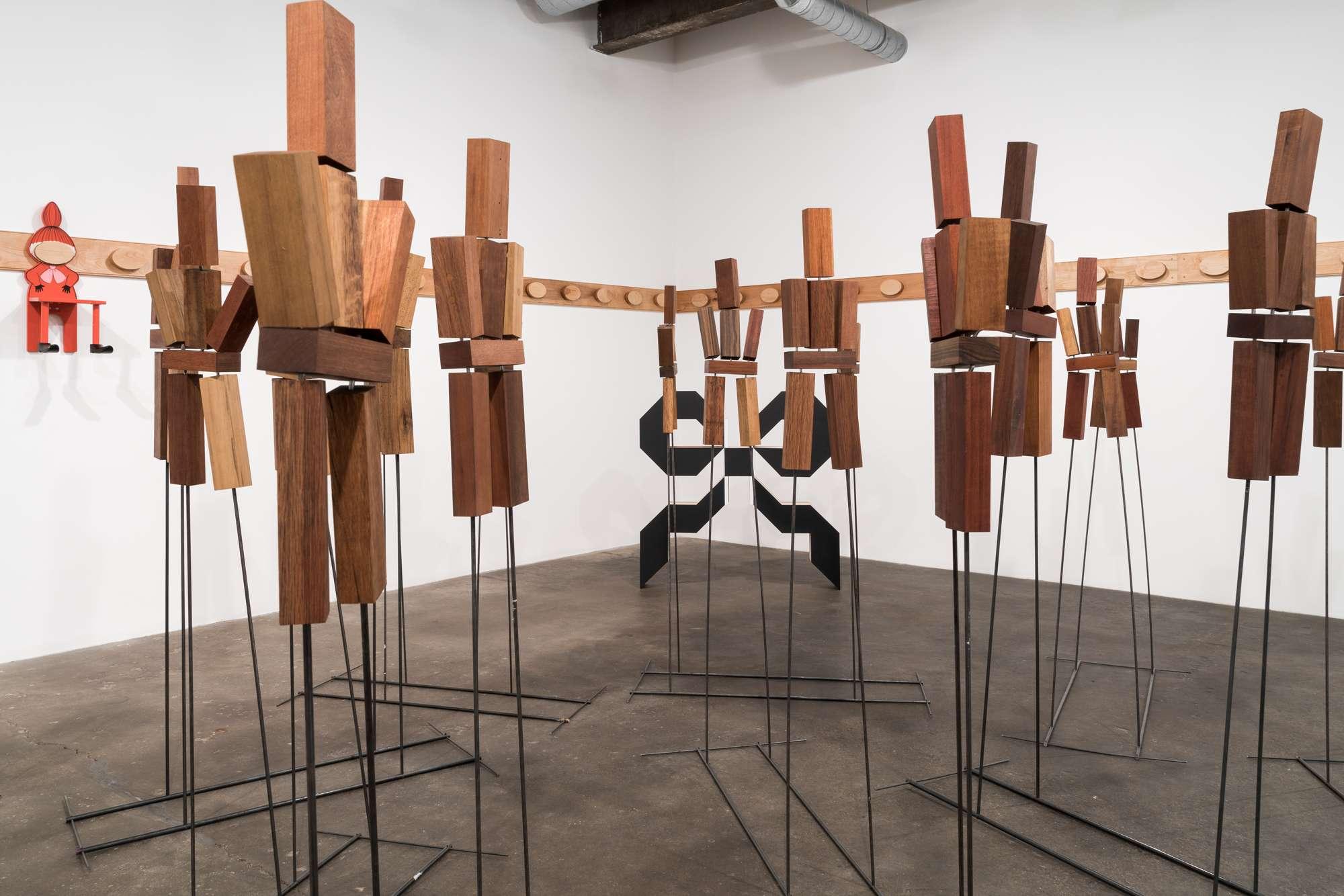Anna Helm, Lisa Lapinski, Hirsch Perlman, installation view. © Midway Contemporary Art. Photo: Caylon Hackwith