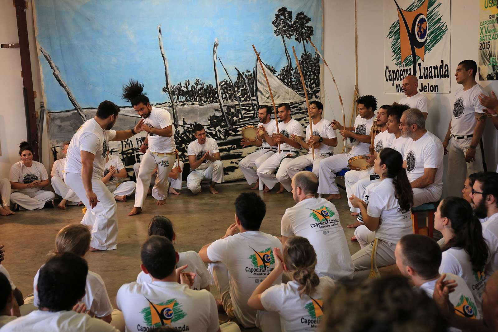 Brazilian Arts Foundation, Capoeira performance